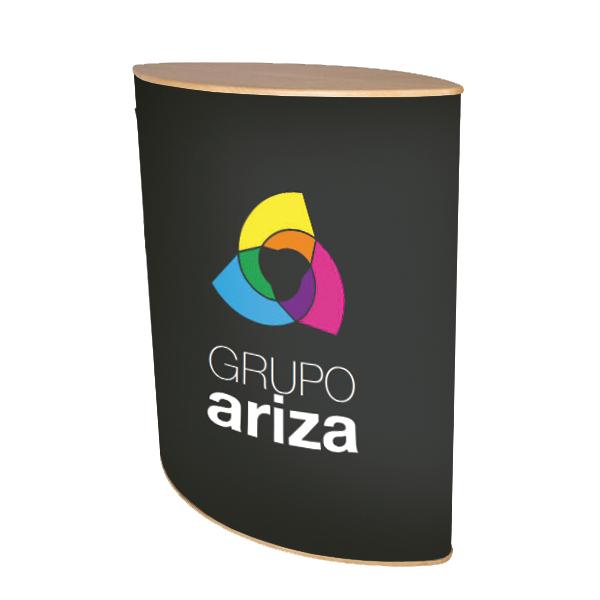 Mostrador Premium Oval Ariza 24