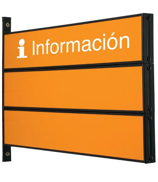 Señalizador directorio banderola Ariza 60
