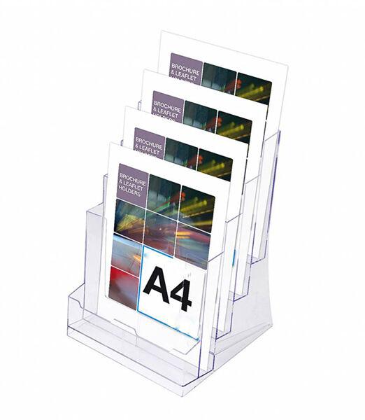 Porta folletos americano 4box Ariza 5
