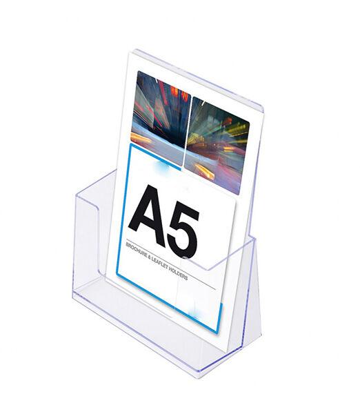 Portafolletos plegable A5 Ariza50
