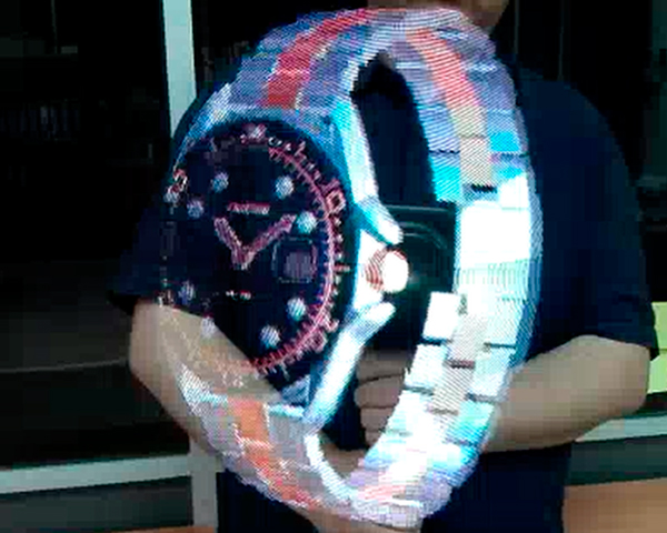 reloj Hologramas