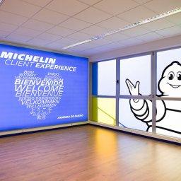 El Espacio del Cliente en las instalaciones de Michelin en Aranda de Duero