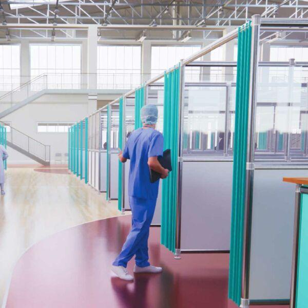 Separación y creación de espacios de trabajo