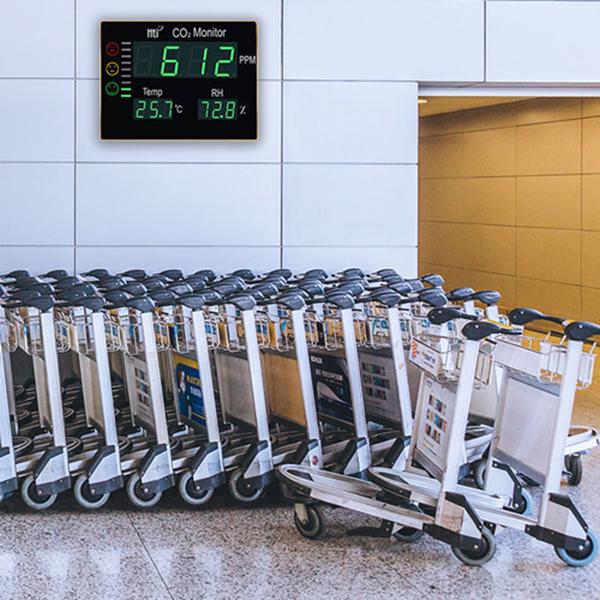 medir la calidad del aire y asegurar la ventilación con un medidor de co2 homologado
